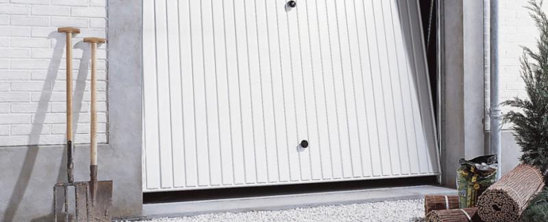 Les atouts de la porte de garage basculante non d bordante - Porte de garage basculante debordante ...