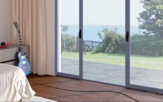 baie vitrée galandage