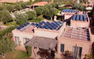 panneau solaire marrakech
